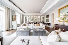 House tour of a multi million dollar real estate listing. Peek inside a fabulous New York City Park Avenue loft.