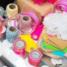 Bakkersdraad, washi tape, lint, labels.. dat wordt heerlijk fröbelen op kot met de nieuwe knutselartikelen van de HEMA!