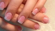 Natural look. Name of products used and link for making clear pink polish Acrylic Nails Stiletto, Pink Gel Nails, Clear Acrylic Nails, Gel Nails At Home, Acrylic Nail Designs, My Nails, Gel Manicure, Natural Looking Acrylic Nails, Natural Nails