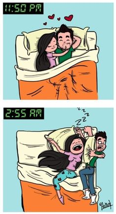 Every night... Haha
