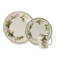 Christmastime and Happy Holidays are renowned Christmas dinnerware ...