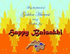 Wish you a very Happy Baisakhi #baisakhi #festival #golden #prosperity #happiness #peace #joy #celebration #love @Artkriti
