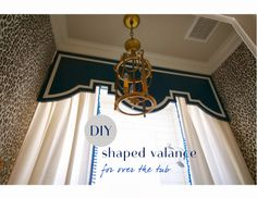 diy tub valance (+ first look at my girls finished bathroom) - design*dump