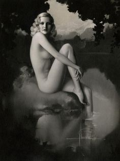 Rolf Armstrong, 1930s | Rolf Armstrong pinup #pinupartsource #rolfarmstrong