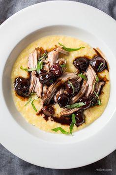 Slow Cooker Balsamic-Cherry Braised Pork