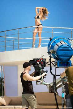 Heidi Klum, 44, flaunts toned beach body in bikini shoot for GNTM