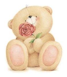 Teddy Bear - Forever Friends - By: Maria Elena Lopez