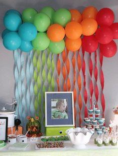 DIY Deko Ideen mit Luftballons - DIY Fasching-Partydeko Ideen