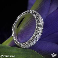 Verragio Beaded Diamond Wedding Ring from the Verragio Venetian Collection.