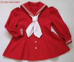 Red_Sailor_Dress by It's Sew Adorable, via Flickr