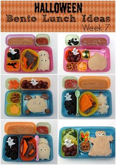 Smashed Peas and Carrots: {Halloween} Bento Lunch Ideas: Week 7