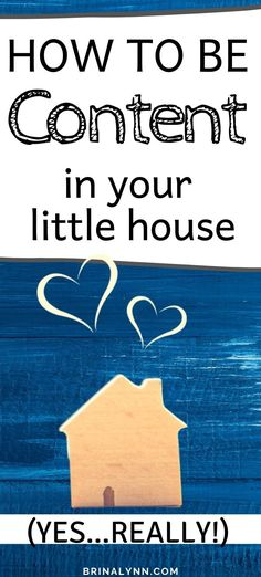 Small house, big family means it can be crazy! How can we be content packed like sardines? There's one little trick, and it changes everything. #content #largefamilies #littlehouse
