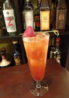 Corazón Negro by mixologist Tricia Alley. Looks amazing!!!!!