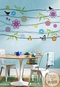 Dale vida a tu hogar con vinilos decorativos