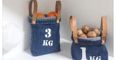 Reciclando vaqueros, ¡crea tus cestas!