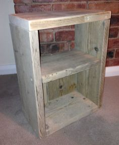 Pine Bedside Tables and Cabinets Project Ideas, Diy Projects, Promised Land, Scaffolding, Bedside Tables, Solid Pine, Wood Cabinets, Bedroom Ideas, Bookcase