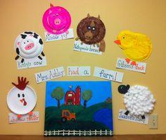 pinterest baby farm decor | Preschool: ...had a farm. The kids each made a farm animal: rooster ...