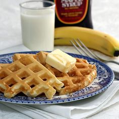 With a Grateful Prayer and a Thankful Heart: Waffles