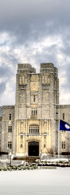 Virginia Tech, Burruss Hall <3