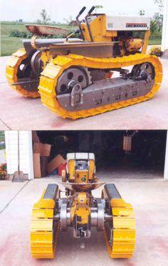 Cub cadet bulldozer