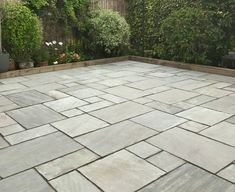 Our Kandla Grey Sandstone is the perfect Indian Stone Paving for any traditional patio. Just Incl. VAT with FREE* Delivery available! See more! Laying Paving Slabs, Sandstone Paving Slabs, Paving Stone Patio, Patio Slabs, Garden Paving, Paving Stones, Garden Slabs, Outdoor Paving, Outdoor Tiles