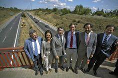 Ignacio González inicia la construcción del tercer carril de la M-503, la carretera regional con más tráfico