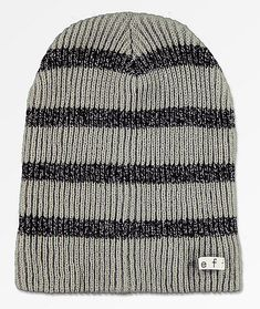 90512900c81 Neff Daily Sparkle Stripe Grey Beanie