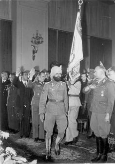Founding of the Provisional Government of the Indian National Free India Centre, Berlin by Heinrich Hoffmann
