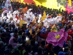 Happy Carnaval des Fleurs Haiti! This is the first carnival in Port-au-Prince since the earthquake.