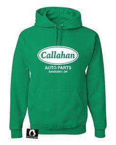 Adult Callahan Auto Parts Sandusky Ohio Tommy Boy Sweatshirt Hoodie