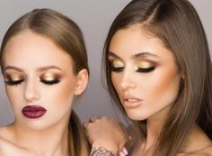 perfect make-up for prom night