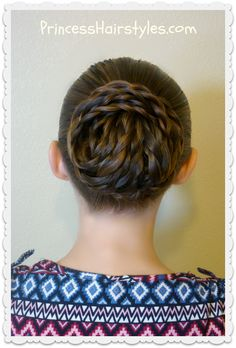 Elegant Textured Updo from Princess Hairstyles Short Hair Bun, Curly Hair Updo, Short Hair Styles Easy, Curly Hair Styles, Rose Hairstyle, Updo Tutorial, Super Easy Hairstyles, Braided Hairstyles, Prom Hairstyles