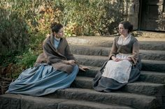 Jenny and Claire trying to rekindle the friendship they once had.
