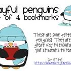 A set of 4 bookmarks with a winter and penguin theme and a penguin coloring sheet.  We host a classroom book exchange project in the winter and we ...