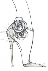 Ivanka Trump Royal Show Sketch.