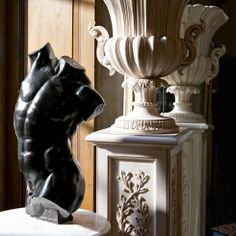 """ The secret of Beauty pertains to classical shapes.""   Roberto Giovannini "" Instinctive passion for Carving """