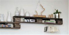 pallets wood decor shelf