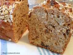 Cake pommes avoine sans beurre et peu sucré