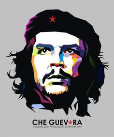 CHE GUEVARA ON WPAP by p32n.deviantart.com on @DeviantArt