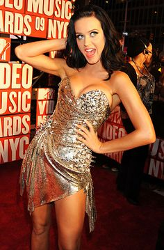 Katy at the VMAs