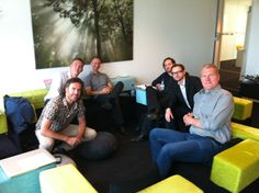 The Startupbootcamp International Management team. Great colleagues!