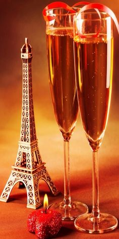 Champagne in Paris...  :)