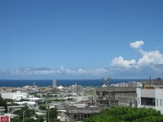 View over Chatan, Okinawa, Japan. Lived here for almost three years. Locals are clean & friendly. Loved it!! Want to go back.