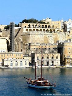 Malta s Grand Harbour Malta History, Malta Valletta, Malta Gozo, Malta Island, Saint Jean, Travel Goals, Countries Of The World, Travel Around The World, Beautiful Places