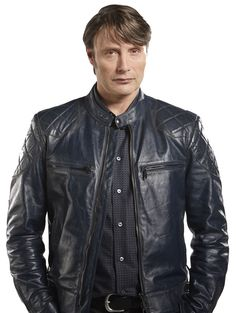 Hannibal Season 3 Mads Mikkelsen Jacket,leather jacket,black leather jacket,mikkelsen jacket,mens jacket