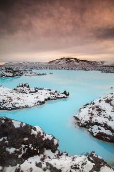 Blue Lagoon, Iceland - HarpersBAZAAR.com