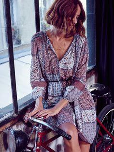 #ESPRIT #Spring #CandelaNovembre #boho #dress #itsparisbaby