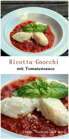 Ricotta Gnocchi mit Tomatensauce