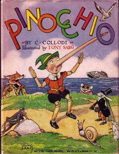 Pinocchio.by Carlo Collodi - Illustrated by Tony Sarg