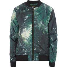 Modische #Jacke in #Grün von Review. Diese Jacke begeistert durch Blousondesign und das tolle #Muster. - ab 39,95 €